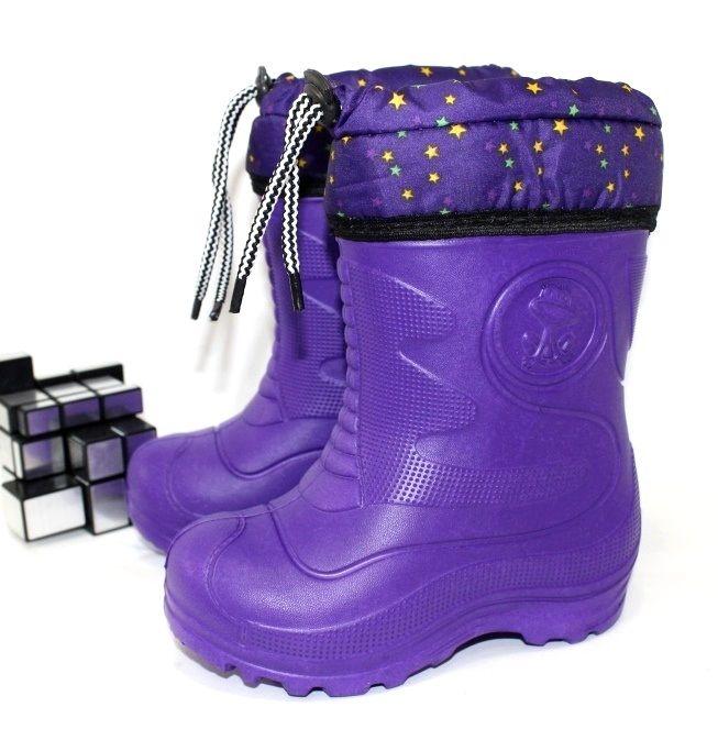 Обувь детская пена на грязь дождь утепленная