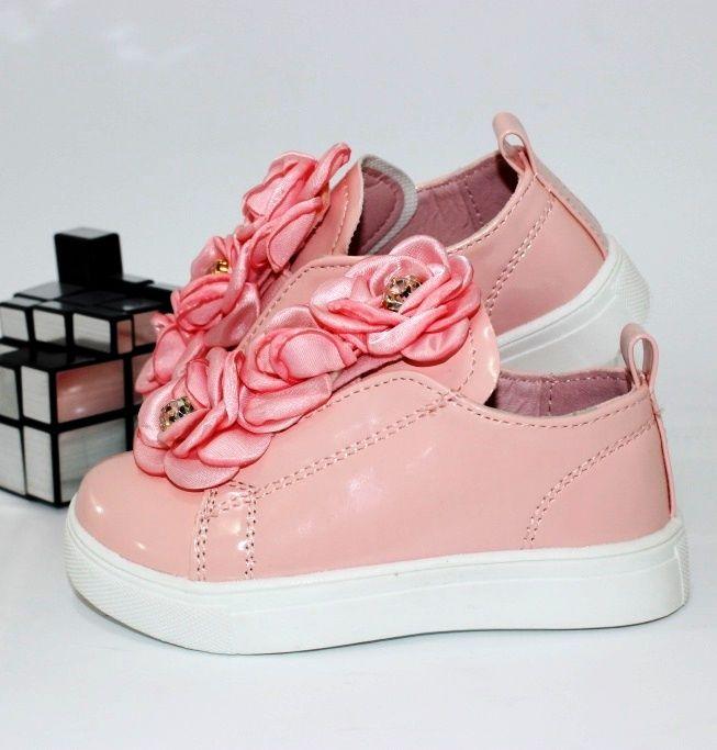 Лаковые розовые туфли для девочек 19 20 21 22 23 24