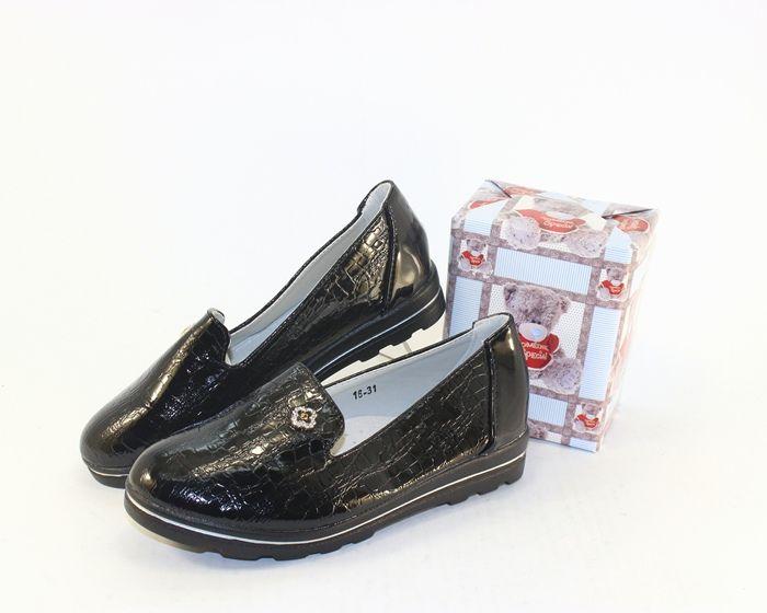 Туфли школьные на девочку купить в розницу в Полтаве