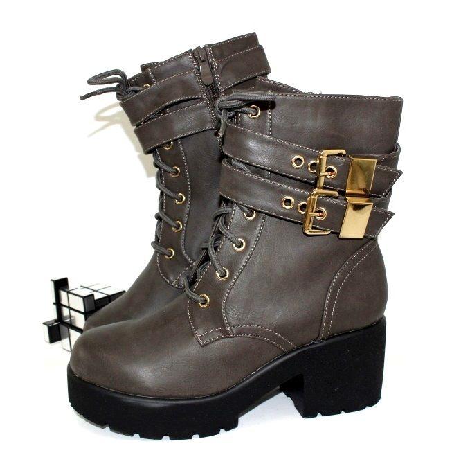 Ботинки весенние и осенние - Оригинальные демисезонные ботинки DSY-68