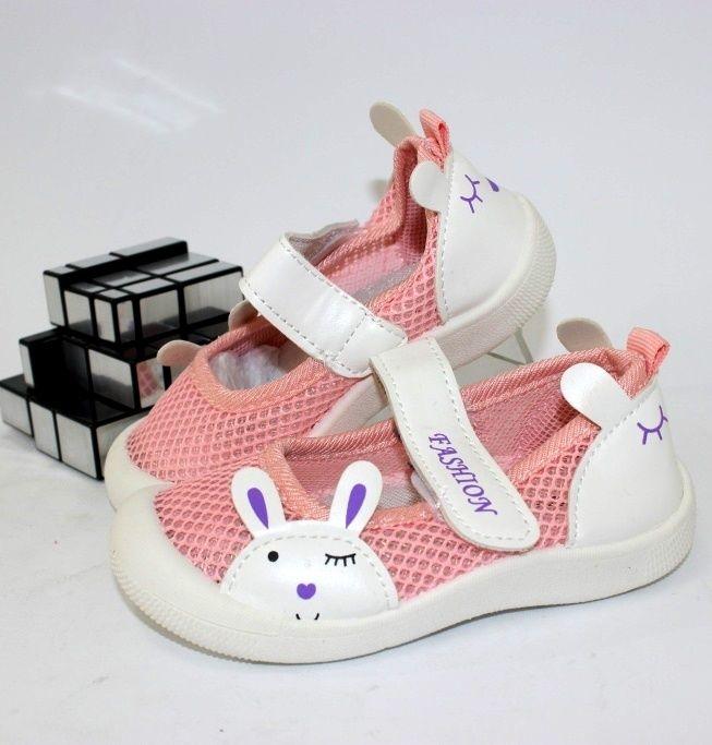 Кеды на липучке F1825-3 - купить детские кроссовки для самых маленьких девочек