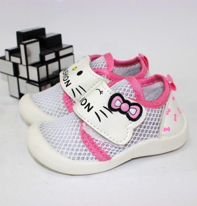 Комфортные летние кеды F1827-1 - купить детские кроссовки для самых маленьких девочек