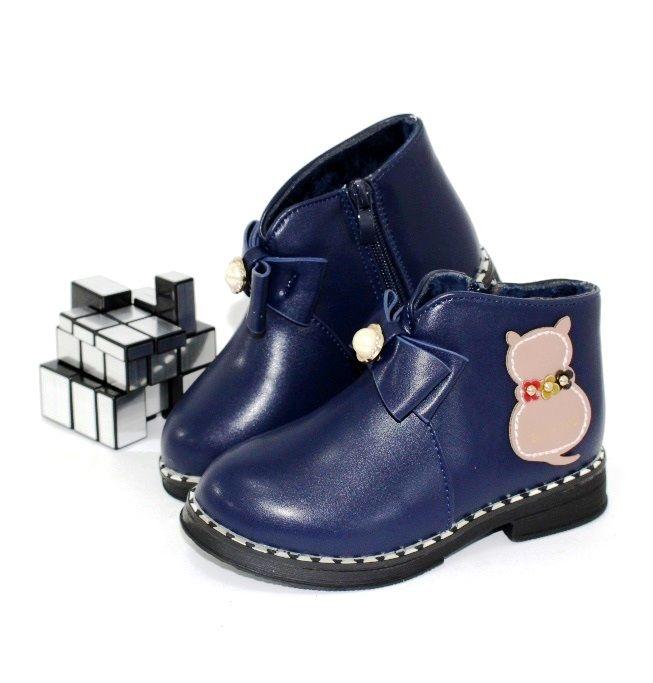стильні демісезонні черевики F2157-2 - черевики для дівчаток демісезон, дитяче взуття недорого, взуття дитяча знижки, осіння взуття