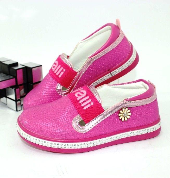 Туфлі для дівчаток, рожеві дитячі туфлі недорого