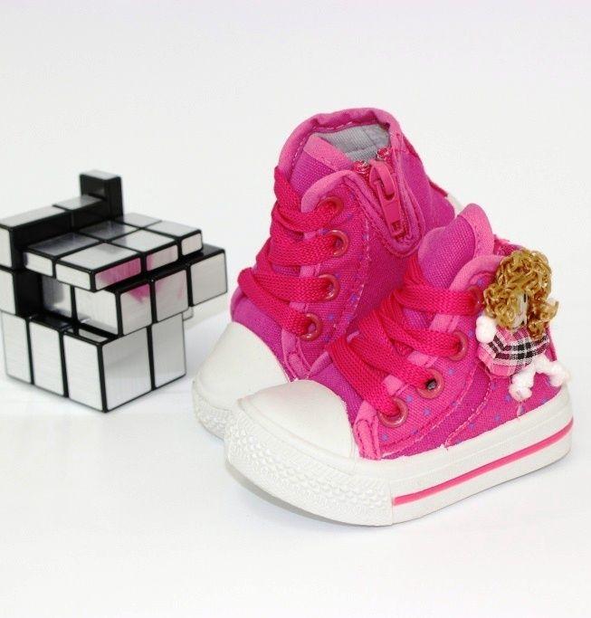 Суперские стильные кеды для малышей G163-3-1 - купить детские кроссовки для самых маленьких девочек