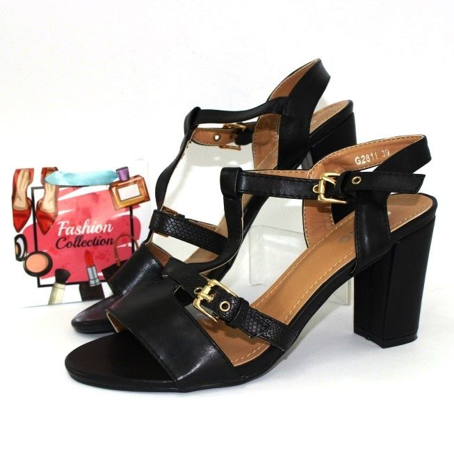 Стильные босоножки на каблуке G2811 - купить недорого украина в интернет магазине