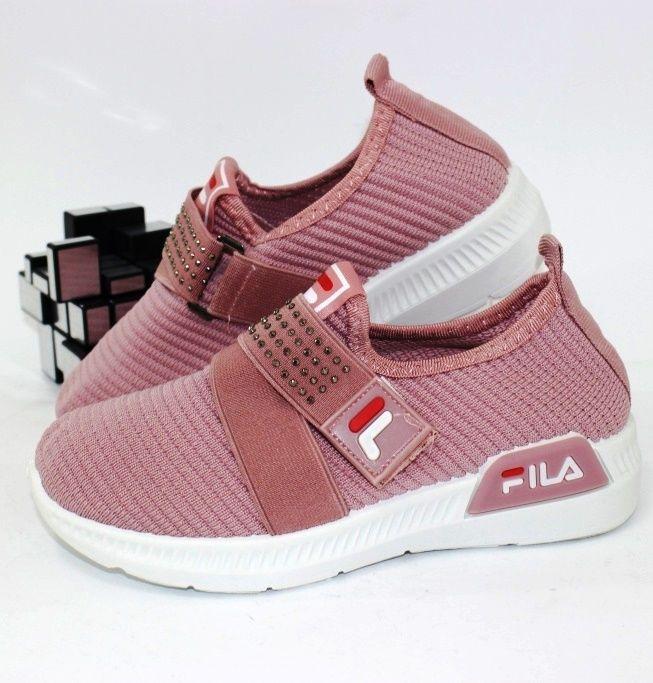 Текстильные кроссовки резинка+липучка GA2-4 - купить девочкам для школы
