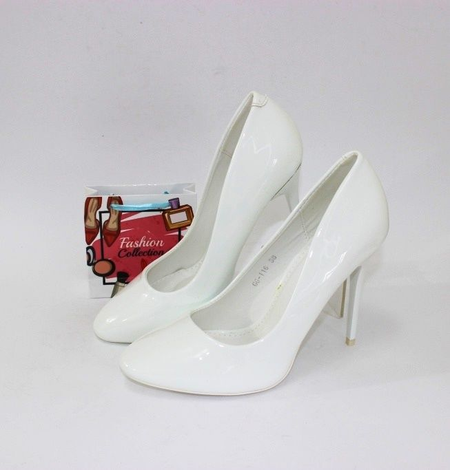 Белые туфли - свадебная обувь с доставкой!