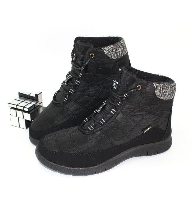 Ботинки зимние из плащёвки GR 121 - купить зимнюю обувь