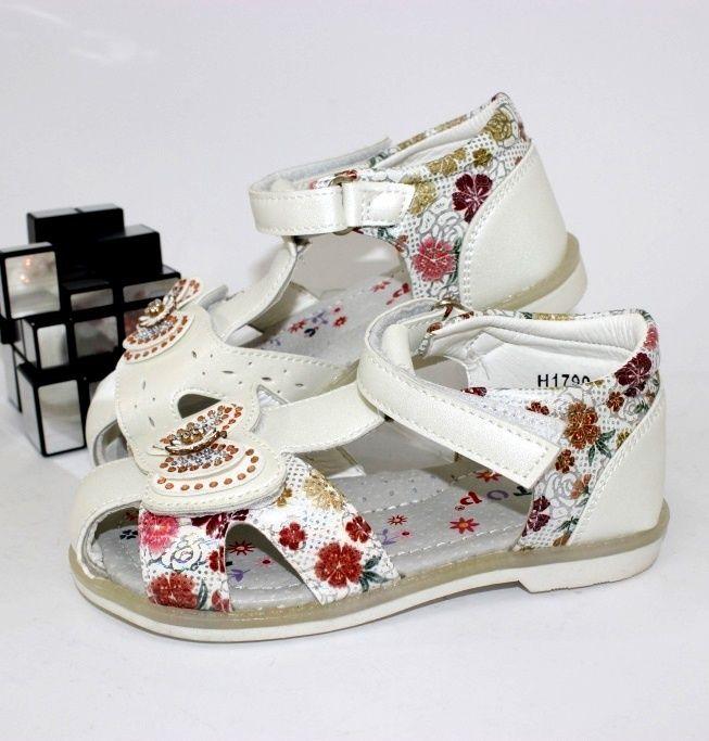 Купити дитячі босоніжки для дівчинки в інтернет-магазині взуття