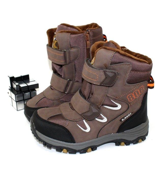 Зимние ботинки для мальчика - недорого с доставкой!