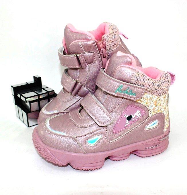 зимові чоботи для дівчинки купити недорого харків, дропшіппінг