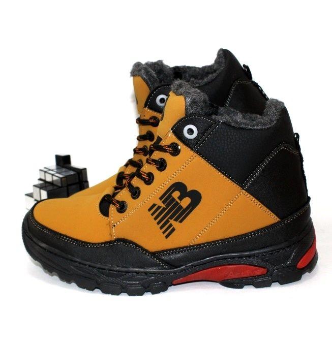 Мужские зимние рыжие ботинки NB заказать онлайн с доставкой
