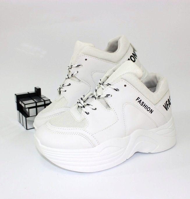 классные белые кроссовки J7-5  - купить в интернет магазине в Запорожье, Днепре, Харькове