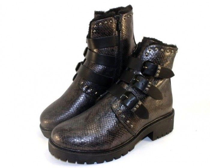 Женские зимние ботинки на шнурках купить недорого