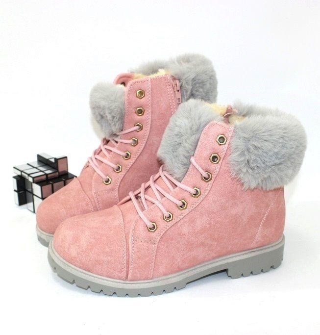 Классные тёплые ботинки K9-N18 - купить зимнюю обувь