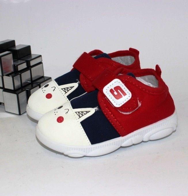 Пинетки на липучке для малышей K919-2 - в интернет магазине детских кроссовок для мальчиков