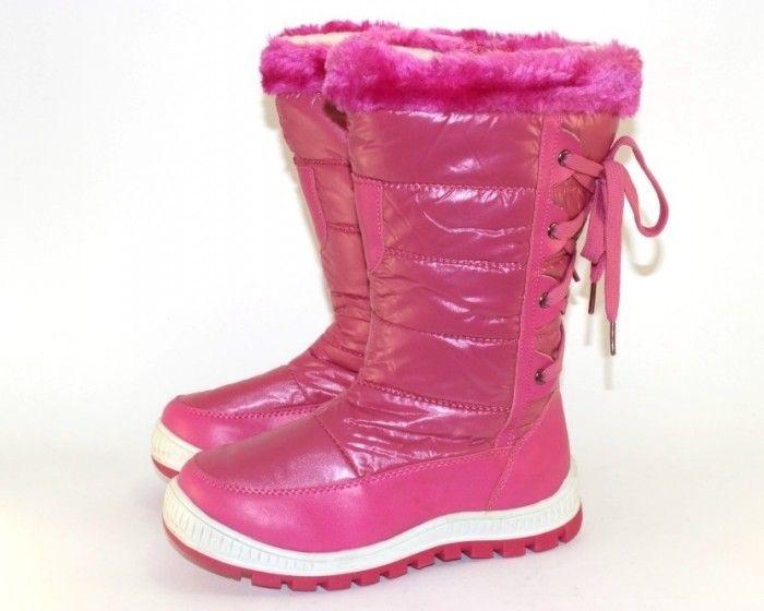 Дутики детские Запорожье, купить детские дутики, дутики для девочки Украина, зимняя обувь Запорожье