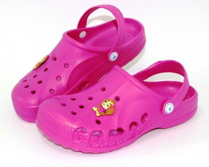 Дитячі шльопанці крокси для дівчинки в інтернет-магазині