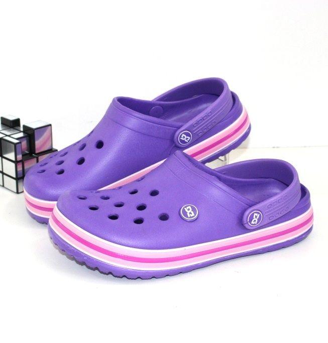 Женские кроксы 420-фиолет - купить с доставкой по низким ценам