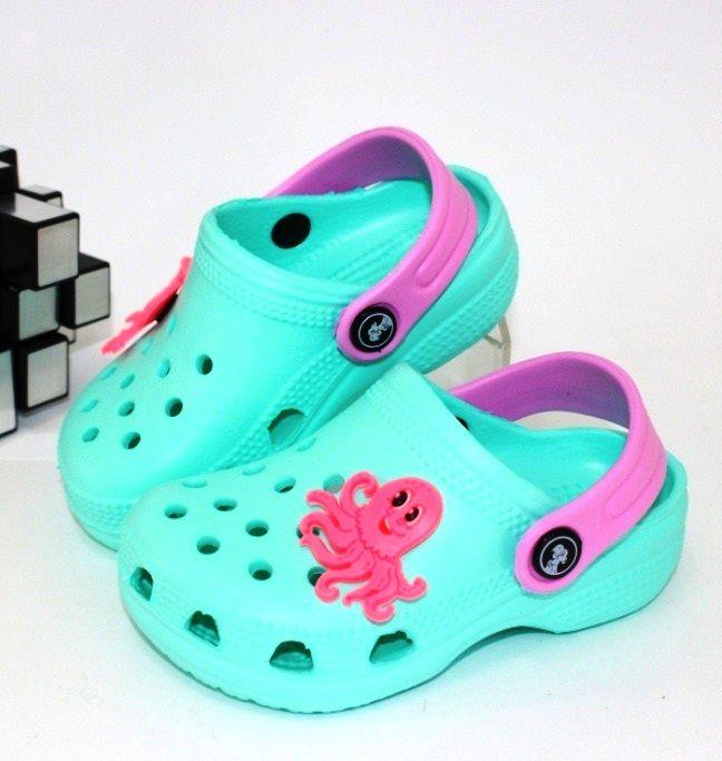 Кроксы для девочек 116138C - купить босоножки, сабо, кроксы, шлёпанцы детские в интернет-магазине с доставкой по всей Украине