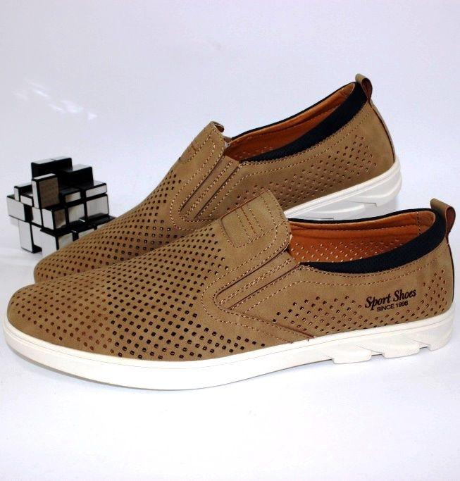 Мужская летняя обувь, купить мужские туфли Днепр, туфли летние Харьков, Полтава