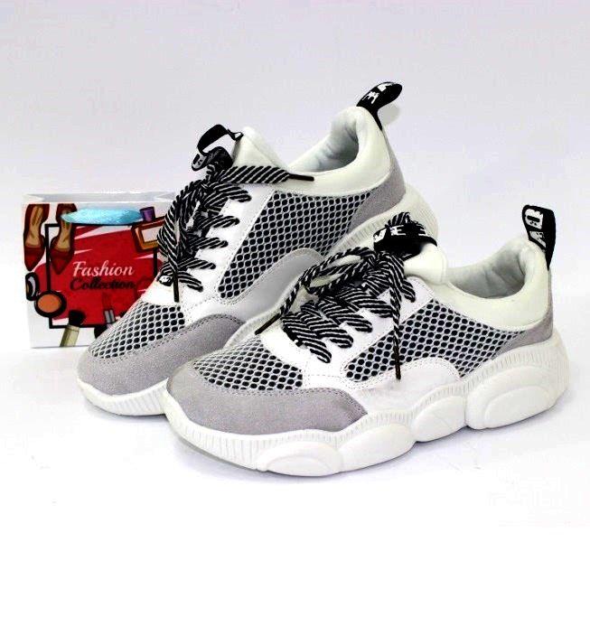Стильные кроссовки M1723 белый  - купить в интернет магазине в Запорожье, Днепре, Харькове