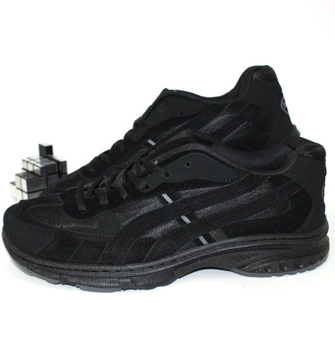 Чёрные мужские кроссовки больших размеров 42 43 44 45 46 47 48 49 50
