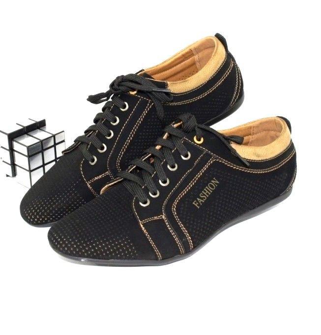 Мужские летние перфорированные туфли по низкой цене