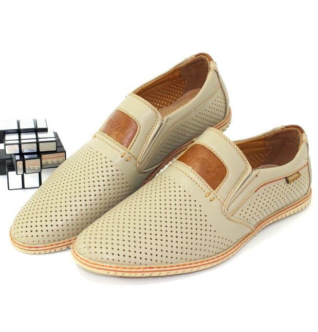 Мужские летние туфли - распродажа кожаной обуви!