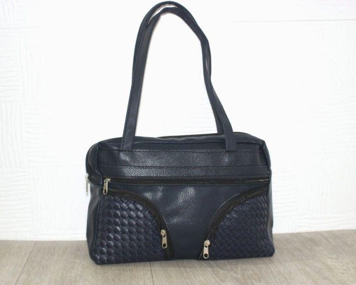 купить красивую синюю сумку