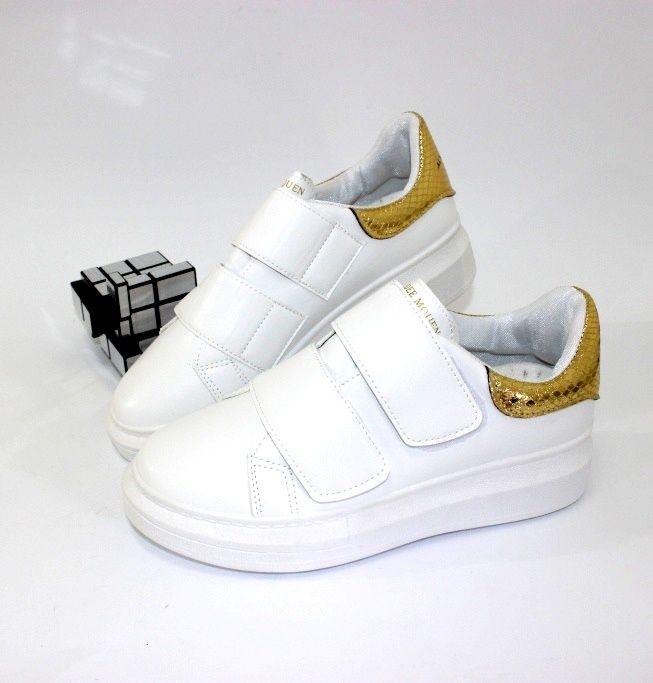 Стильные кроссовки на липучках P703-7  - купить в интернет магазине в Запорожье, Днепре, Харькове