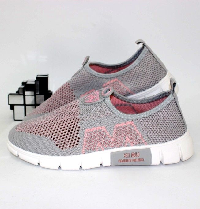 Лёгкие текстильные кроссовки Q211  - купить в интернет магазине в Запорожье, Днепре, Харькове