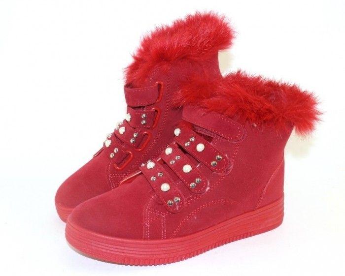 Молодёжные зимние ботинки 407-20 - купить зимнюю обувь