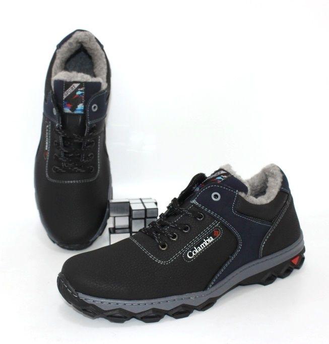 Тёплые мужские ботинки кроссовки с примеркой