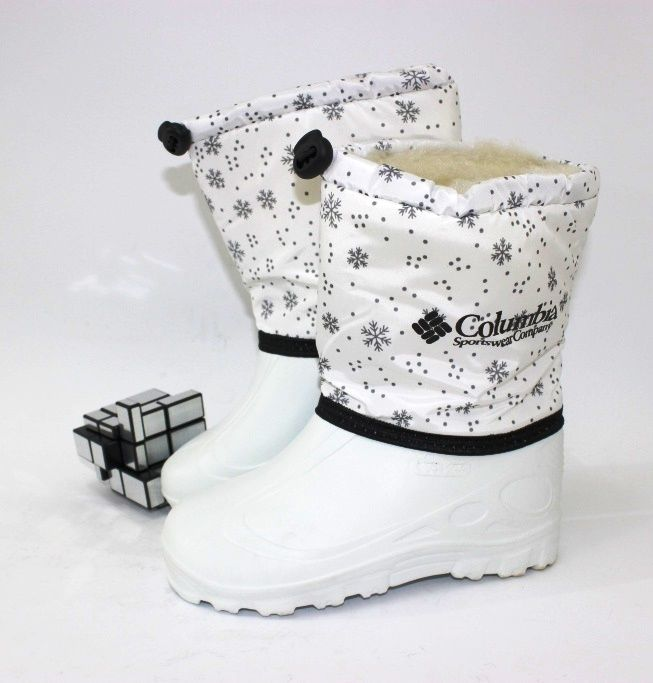 Тёплые сапожки дутики для девочки, детские дутики Украина, зимняя обувь для девочек