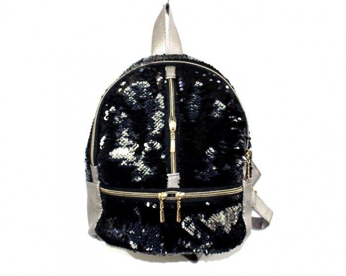 Купить Рюкзак с пайетками 44328 недорого Украина, сумки, рюкзаки, клатчи