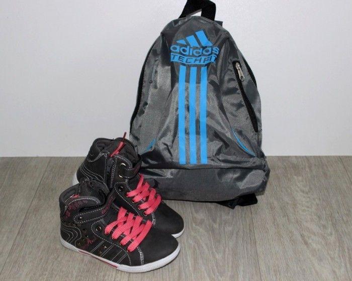 Високі кросівки для дівчинки, купити осінню спортивне взуття для дітей
