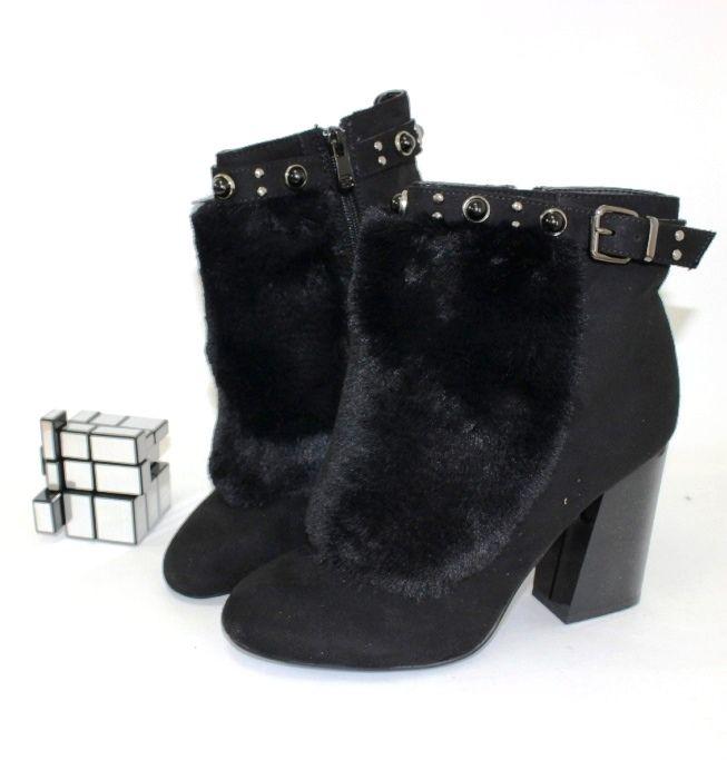 Ботинки весенние и осенние - Стильные ботинки на каблуке T163