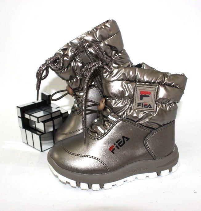 зимові чоботи для дівчинки купити недорого запорожье