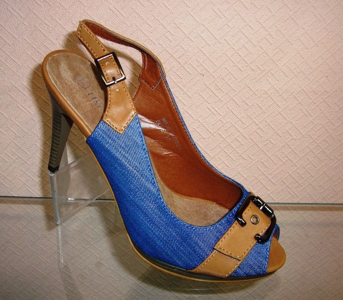 Босоніжки джинсові 7SF-GP81611 - купити недорого України в інтернет магазині