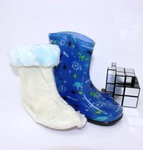 Резиновые детские сапоги для мальчика