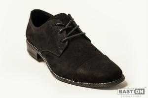 """Замшевые мужские туфли на шнуровке """"Бастион"""""""