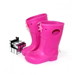 Детские резиновые сапоги для девочек