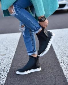 Женская обувь Польша - весенние ботинки недорого!