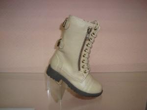Купить 29-38 ROBERTO 9067 бежевый. Детская обувь для девочки - СанДаль