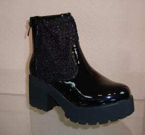 Купить Сапоги весенние и ботинки ROBERTO 288 чёрный. Обувь женская - СанДаль