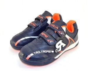 Кроссовки на липучках RY-95C DEEP-BLUE - в интернет магазине детских кроссовок для мальчиков