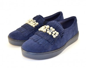 Комфортные повседневные туфли FF051 BLUE - женская обувь недорого, туфли женские скидки