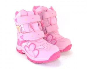 Зимняя обувь для девочек, розовые зимние сапоги Киев, зимняя термо обувь недорого Украина